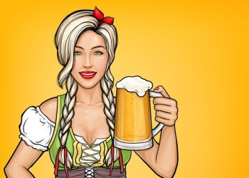 pop-art-beautiful-female-waitress-holding-glass-beer-her-hand-oktoberfest-celebration-blonde-girl-smiling-traditional-german-costume-with-alcohol-drink_88138-386